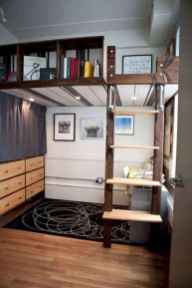 100+ cute loft beds college dorm room design ideas for girl (57)