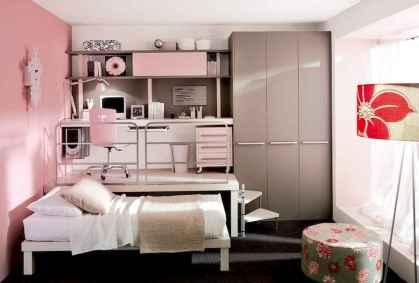100+ cute loft beds college dorm room design ideas for girl (73)