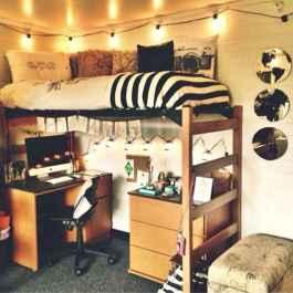 100+ cute loft beds college dorm room design ideas for girl (8)