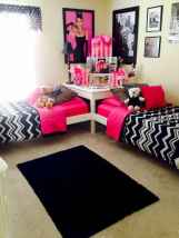 100+ cute loft beds college dorm room design ideas for girl (89)