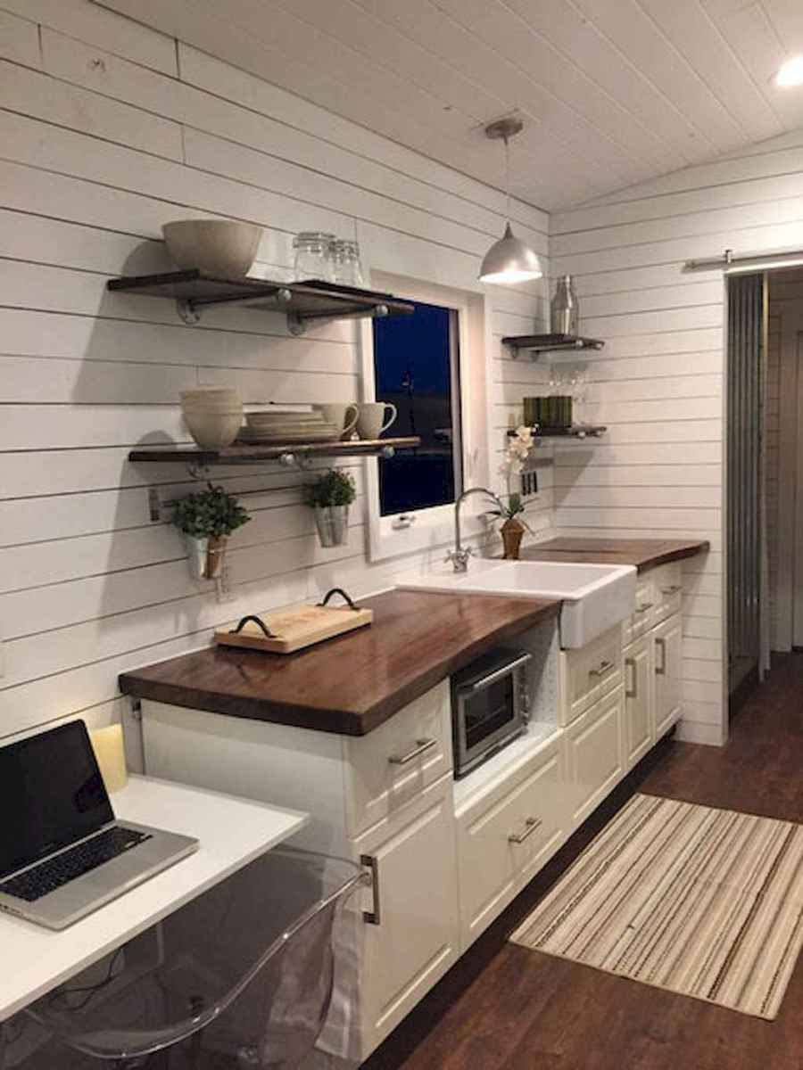 40 top rv 5th wheels kitchen hacks makeover and renovations tips ideas to make your road trips awesome (25)