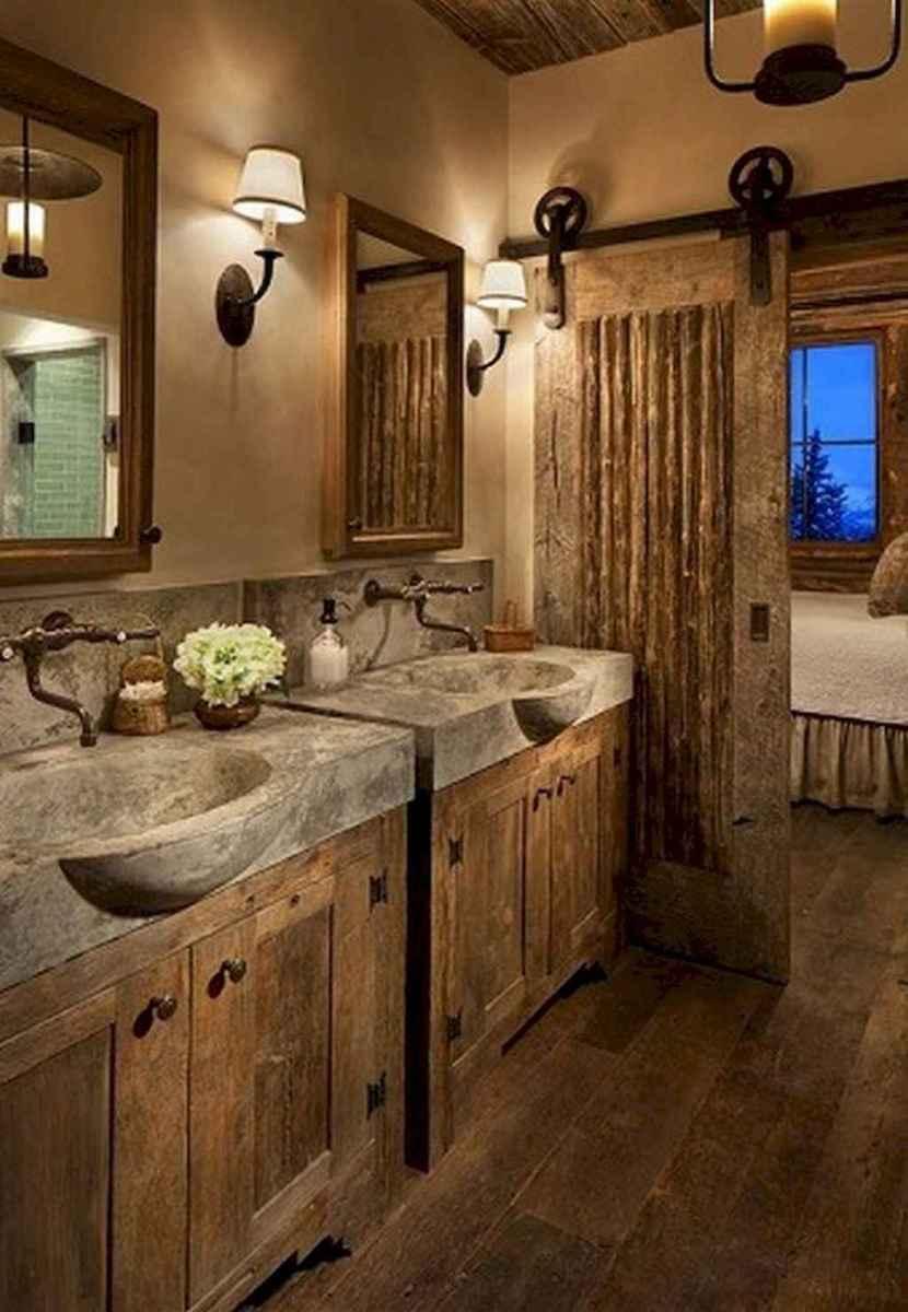 50 best farmhouse bathroom vanity remodel ideas (1)