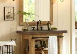 50 best farmhouse bathroom vanity remodel ideas (124)