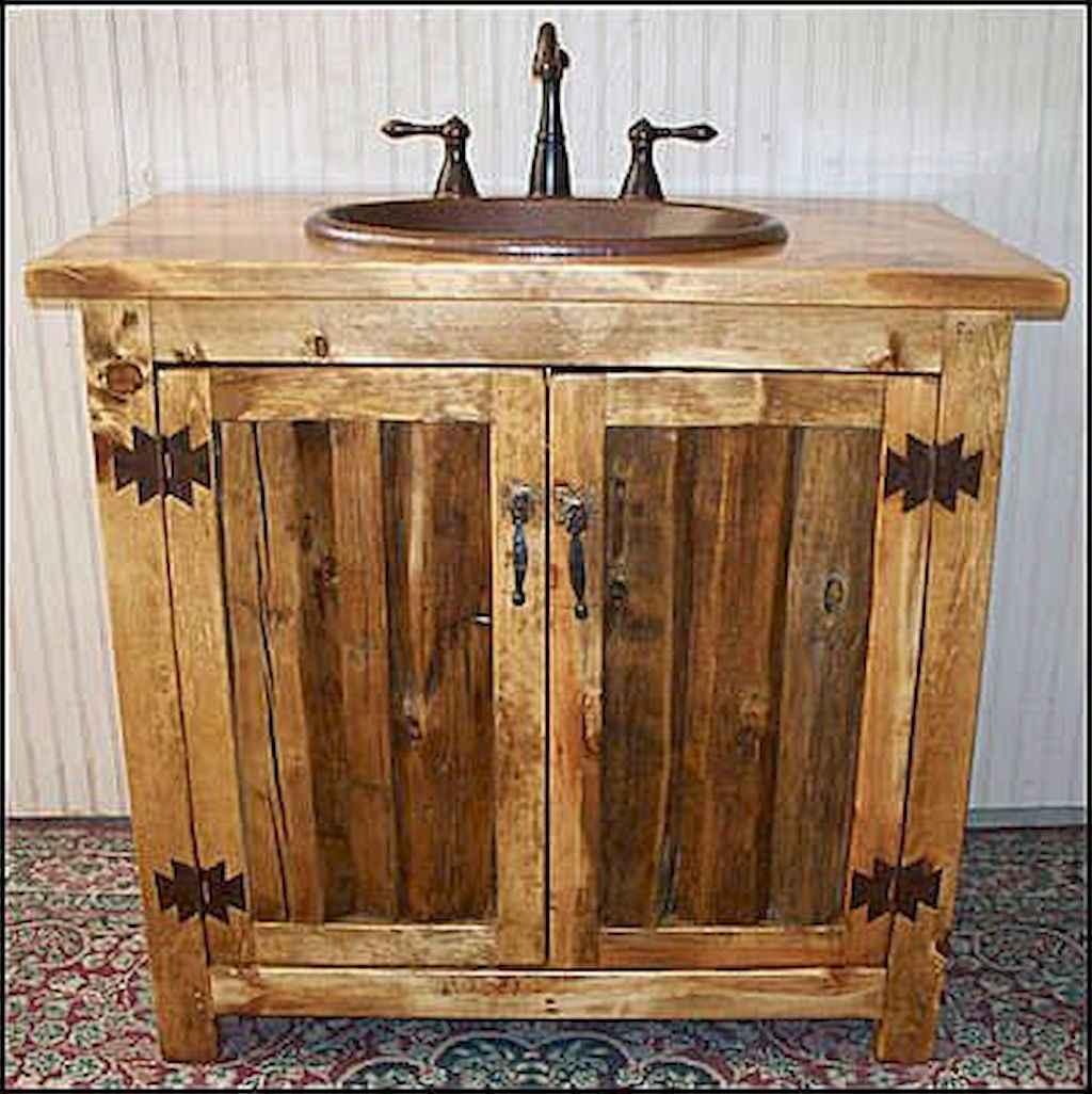 50 best farmhouse bathroom vanity remodel ideas (61)