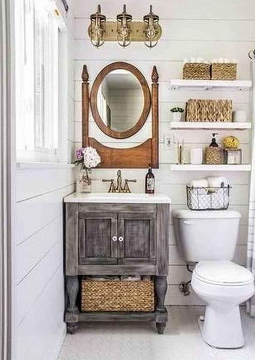 50 best farmhouse bathroom vanity remodel ideas (9)