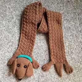 50 easy diy crochet animal scarf ideas for beginner (11)