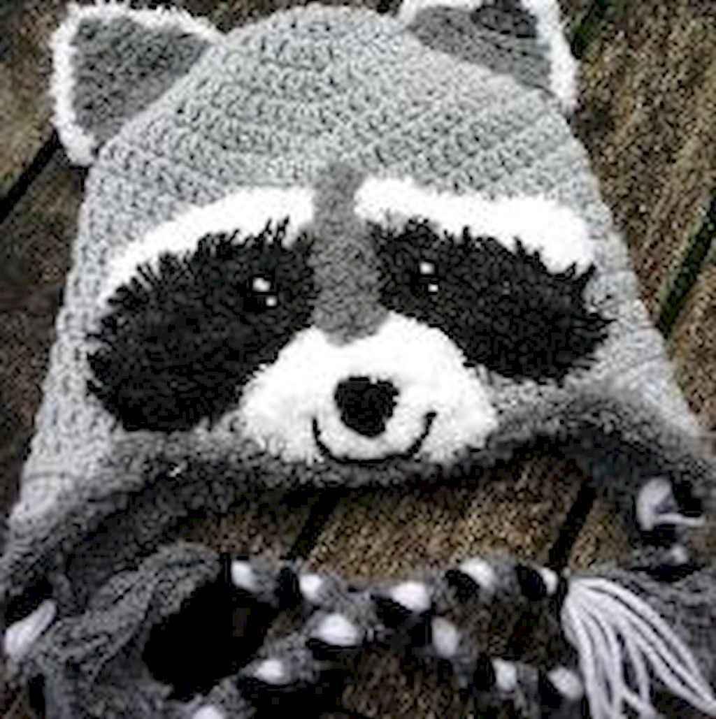 50 easy diy crochet animal scarf ideas for beginner (18)