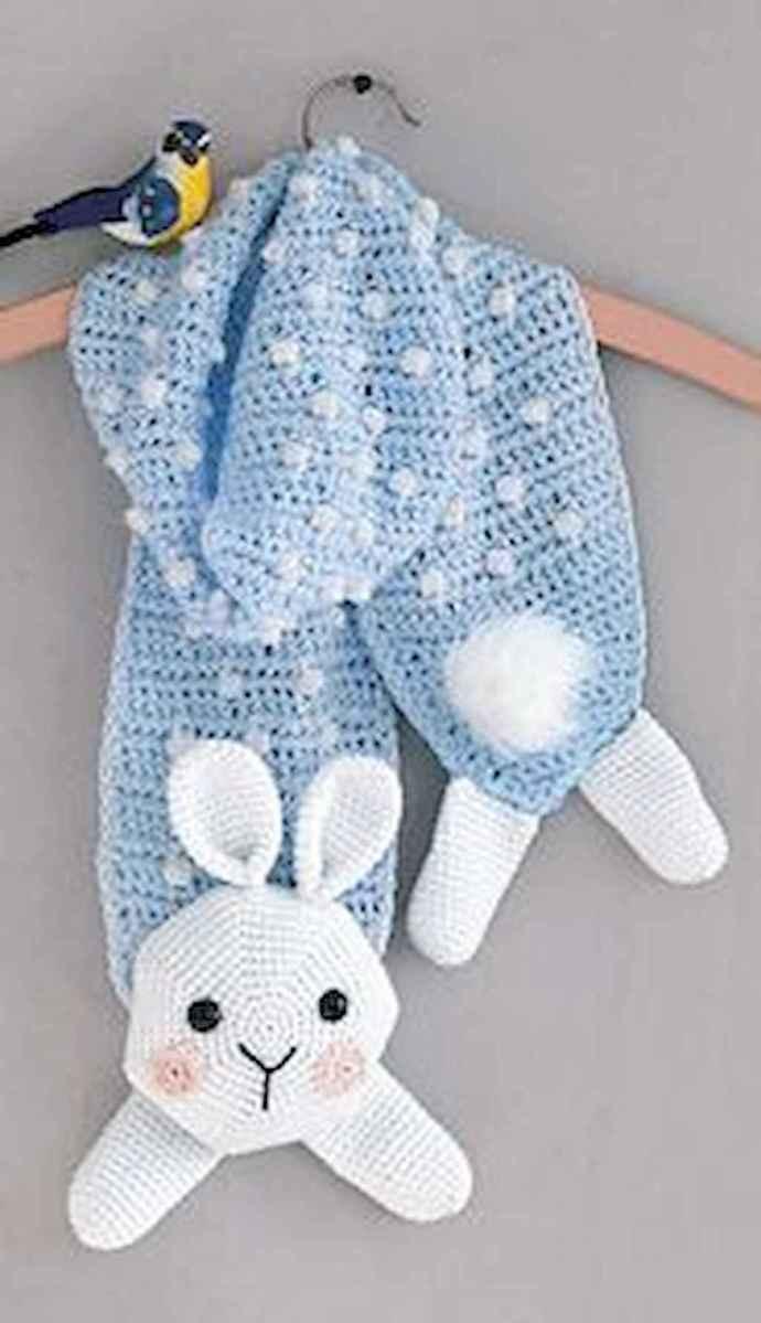 50 easy diy crochet animal scarf ideas for beginner (19)
