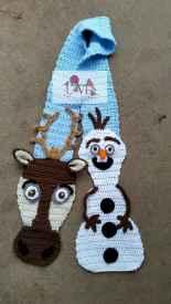 50 easy diy crochet animal scarf ideas for beginner (46)