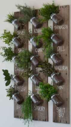 60 easy to try herb garden indoor ideas (46)