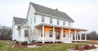 60 rustic farmhouse exterior decor ideas (52)