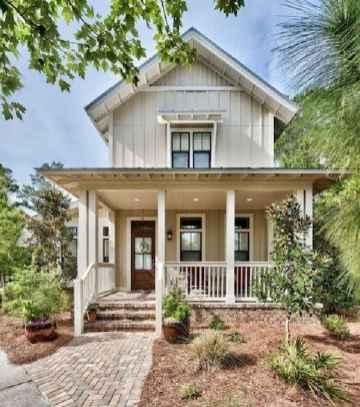 60 rustic farmhouse exterior decor ideas (55)