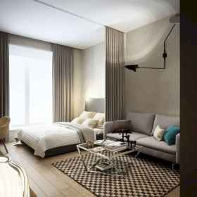 65 best studio apartment decorating ideas (22)