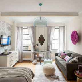 65 best studio apartment decorating ideas (34)