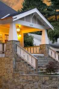 65 stunning farmhouse porch railing decor ideas (10)