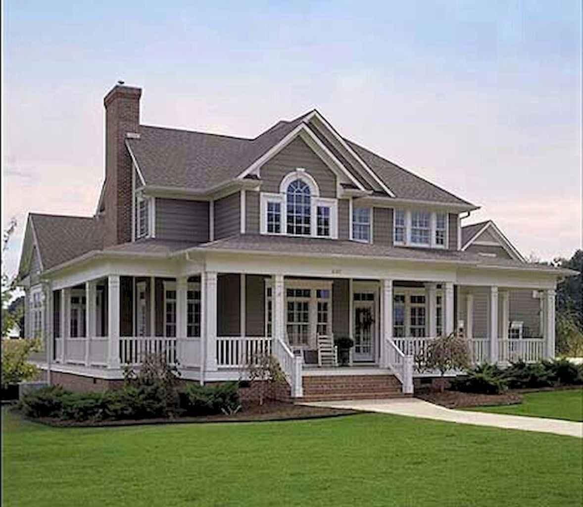 65 stunning farmhouse porch railing decor ideas (17)