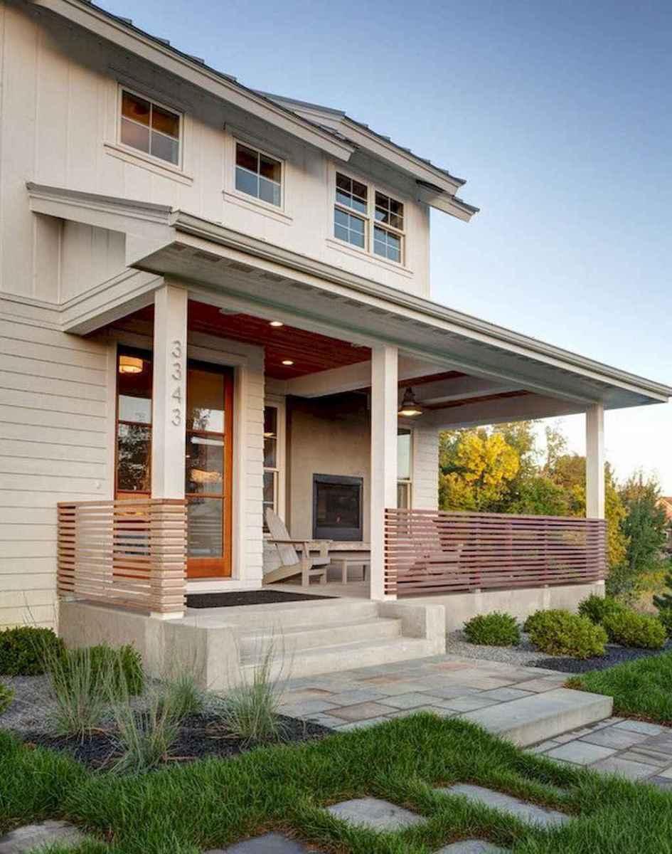 65 stunning farmhouse porch railing decor ideas (33)