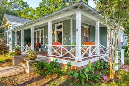 65 stunning farmhouse porch railing decor ideas (45)