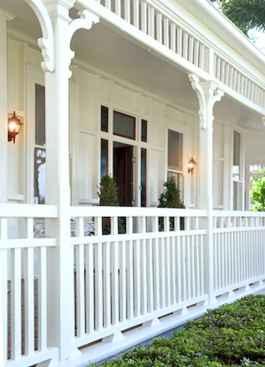 65 stunning farmhouse porch railing decor ideas (64)