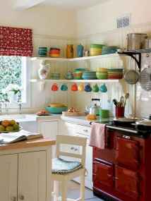 70 pretty farmhouse kitchen curtains decor ideas (32)
