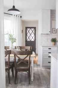70 pretty farmhouse kitchen curtains decor ideas (44)