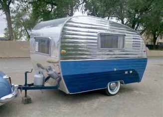 70 spectacular vintage trailers rv living ideas (31)
