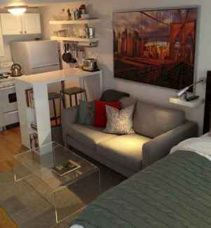 77 amazing small studio apartment decor ideas (68)