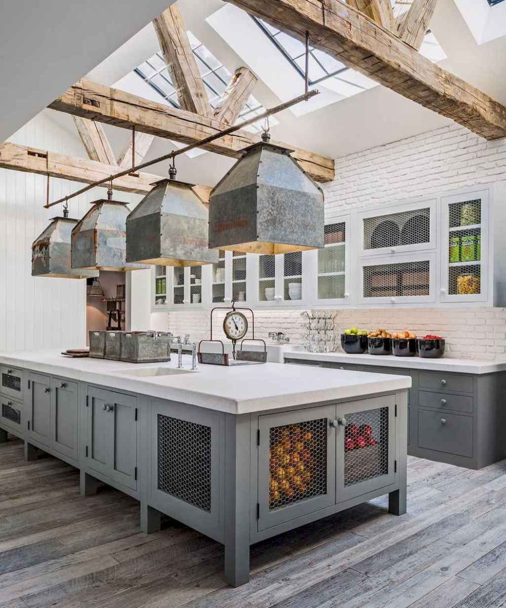 77 best rustic renovations ideas for farmhouse style (12)