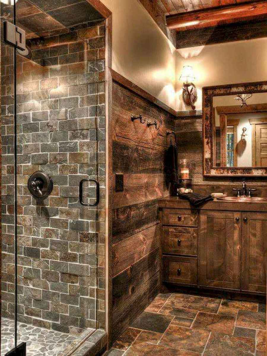 77 best rustic renovations ideas for farmhouse style (23)