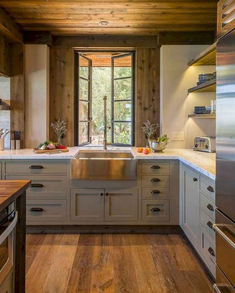 77 best rustic renovations ideas for farmhouse style (58)