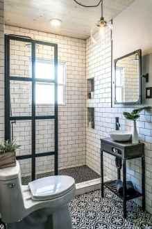80 best farmhouse tile shower ideas remodel (44)