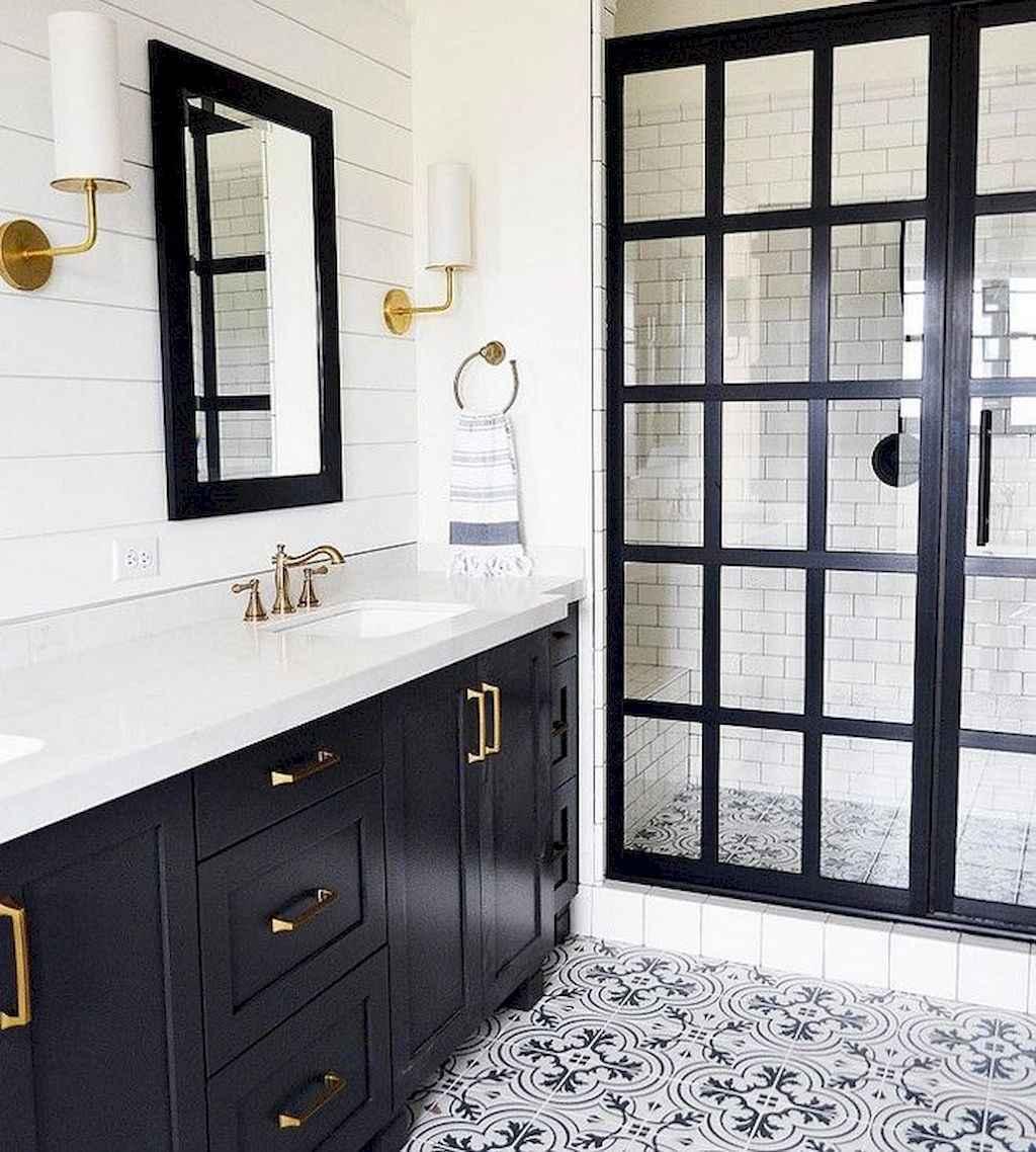 80 best farmhouse tile shower ideas remodel (65)