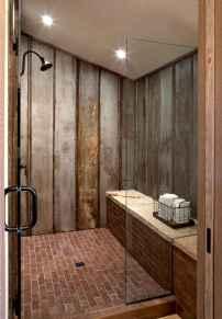 80 best farmhouse tile shower ideas remodel (78)