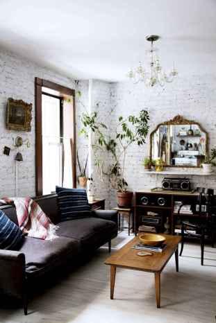 88 beautiful apartment living room decor ideas with boho style (116)