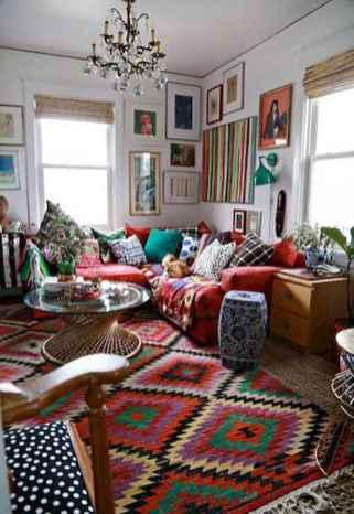 88 beautiful apartment living room decor ideas with boho style (117)