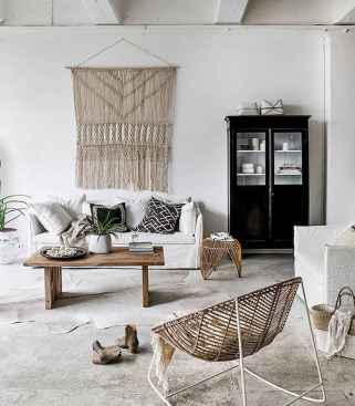 88 beautiful apartment living room decor ideas with boho style (148)