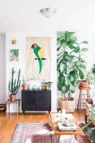 88 beautiful apartment living room decor ideas with boho style (92)