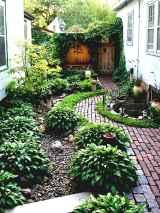 90 beautiful side yard garden decor ideas (23)