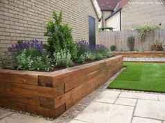 90 beautiful side yard garden decor ideas (35)