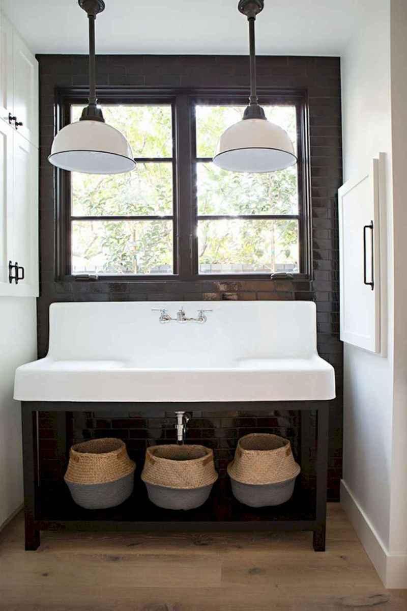 90 best lamp for farmhouse bathroom lighting ideas (10)