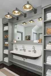 90 best lamp for farmhouse bathroom lighting ideas (19)