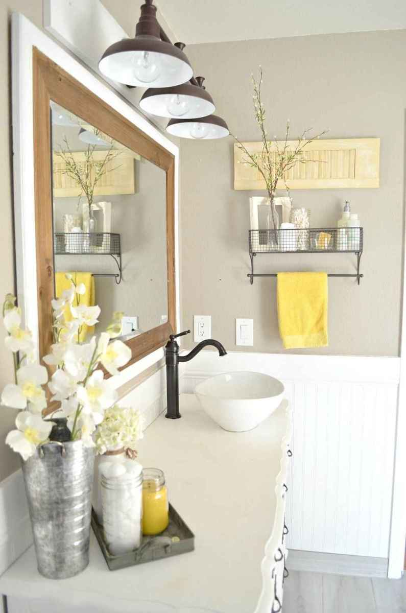 90 best lamp for farmhouse bathroom lighting ideas (37)