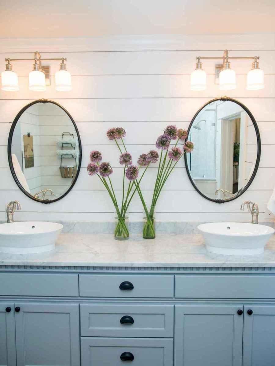 90 best lamp for farmhouse bathroom lighting ideas (39)