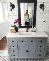 90 best lamp for farmhouse bathroom lighting ideas (42)