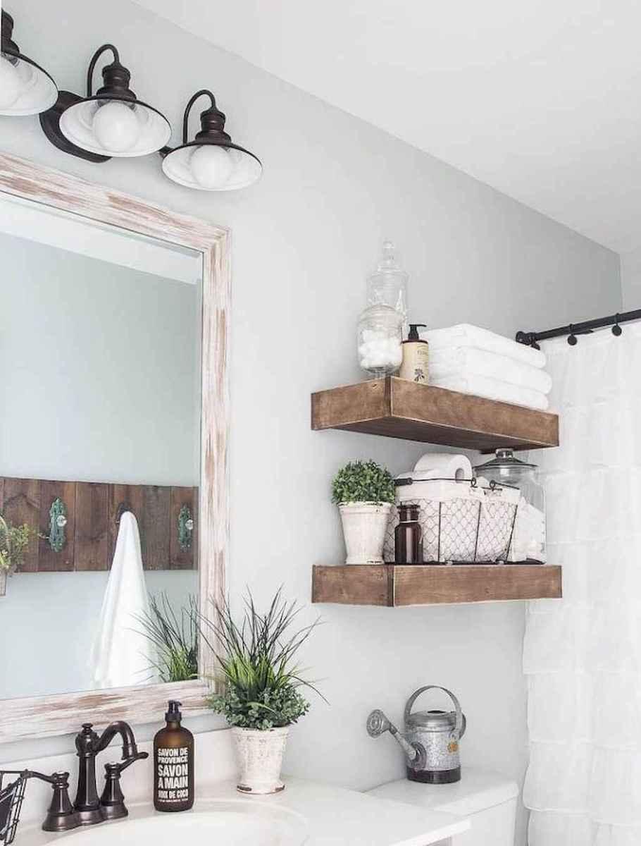 90 best lamp for farmhouse bathroom lighting ideas (68)