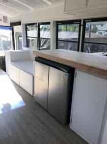 90 modern rv remodel travel trailers ideas (31)