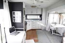 90 modern rv remodel travel trailers ideas (32)