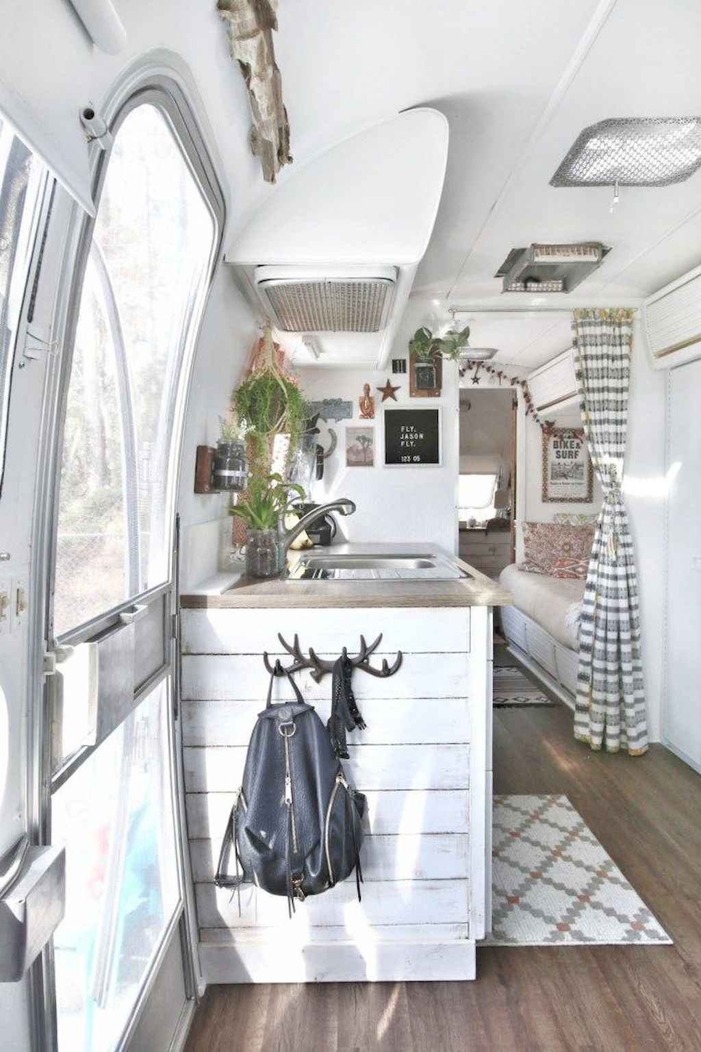 90 modern rv remodel travel trailers ideas (36) - Roomadness.com