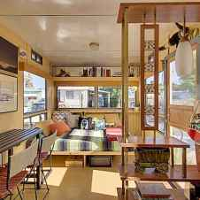 90 modern rv remodel travel trailers ideas (38)