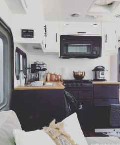 90 modern rv remodel travel trailers ideas (45)